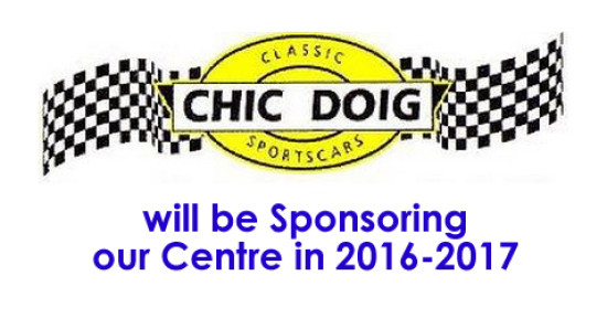 A new Sponsor – Chic Doig Classic Sports Cars